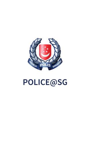 SPF Police@SG Mobile App